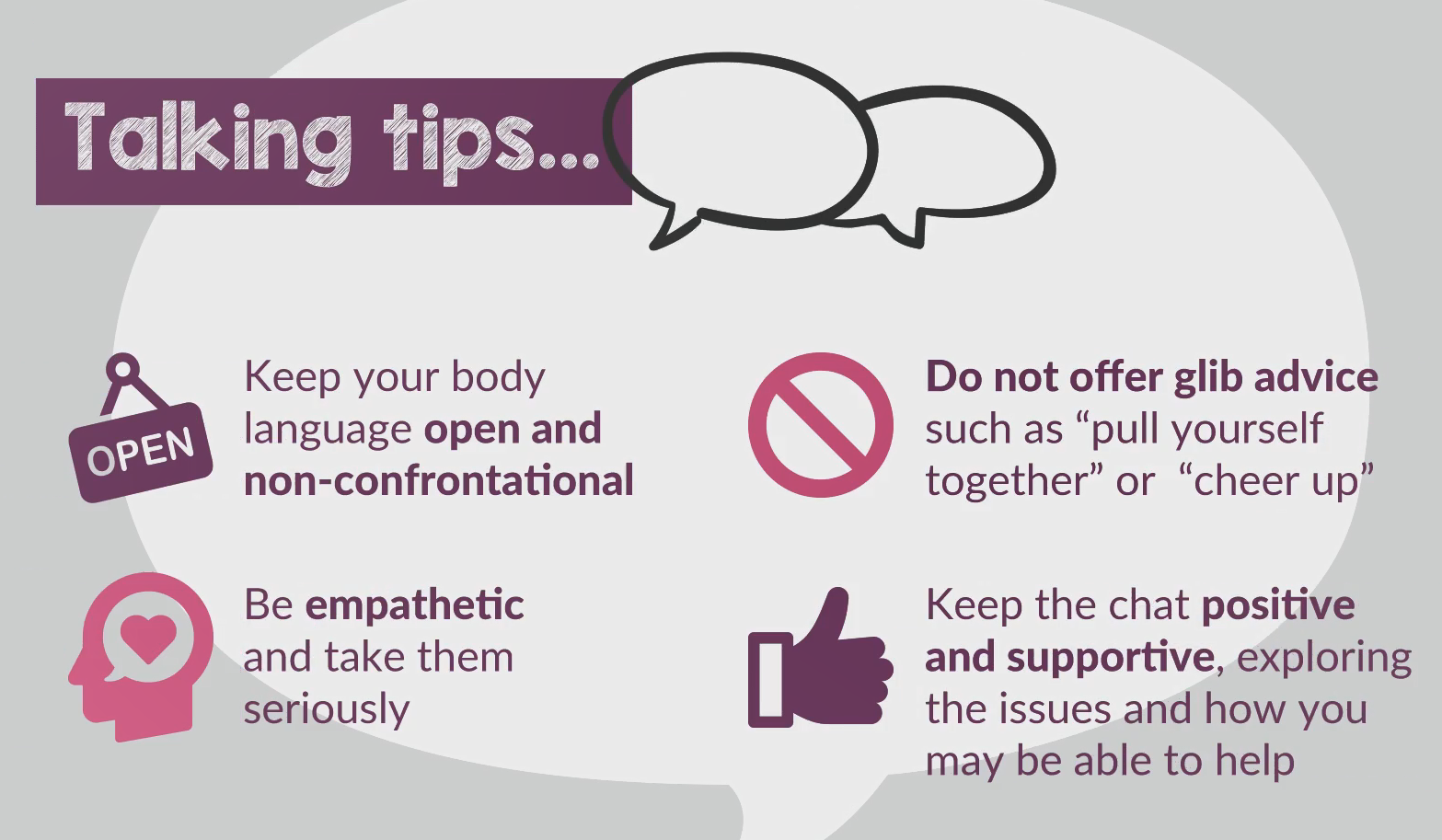 #HU4HM - GIF - Tips for talking with young people
